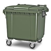 Мусорный контейнер пластиковый 1100л