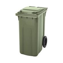 Мусорный контейнер пластиковый 360 л