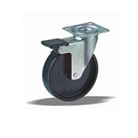 Колесо поворотное с тормозом LK-1702-MMB-F18 Словения