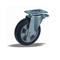 Колесо поворотное с тормозом LK-3202-DUR-F09 Словения