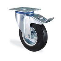 Колесо промышленное поворотное с тормозом 3302-SLS