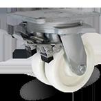 Колесо поворотное с тормозом 6702-RPR-F09