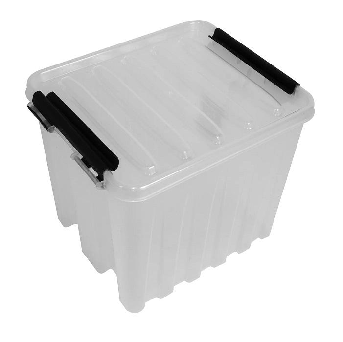 Ящик с крышкой 4,5 л прозрачный