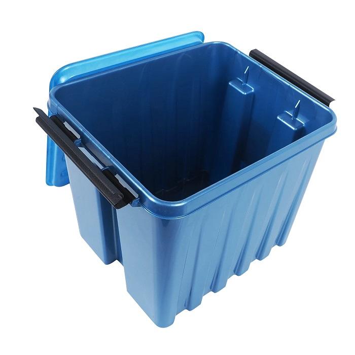 Ящик с крышкой 4,5 л синий -1