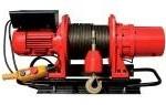 Лебедка электрическая KDJ-1000E1 г/п 1000кг. L= 60м. (380v)