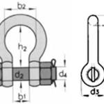 Скоба анкерная омегообразные тип G 2130 (болт-гайка)