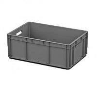 Ящик пластиковый открытые ручки 600х400х220