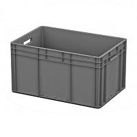 Ящик пластиковый открытые ручки 600х400х320