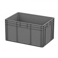 Ящик пластиковый закрытые ручки 600х400х320