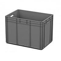 Ящик пластиковый открытые ручки 600х400х420