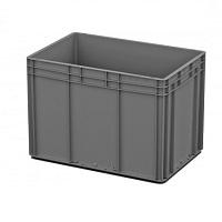 Ящик пластиковый закрытые ручки 600х400х420