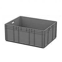 Ящик пластиковый открытые ручки 800х600х320