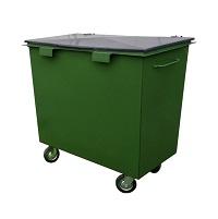 Бак мусорный металлический 0,8 м3 Базовый