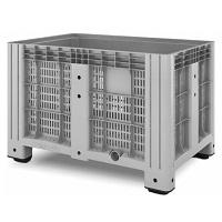Пластиковый контейнер iBox (перфорированный, на ножках)