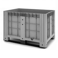 Пластиковый контейнер iBox сплошной на полозьях