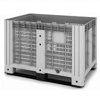 Пластиковый контейнер iBox (перфорированный, на полозьях)
