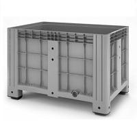 Пластиковый контейнер iBox (сплошной, на ножках)