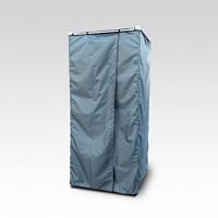 Дачная душевая кабина с резиновым ковриком