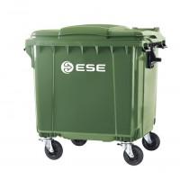 Мусорный контейнер пластиковый 1100 л (Германия)