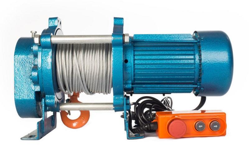 Лебедка электрическая KCD-750 100м 380В