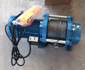 Лебедка электрическая KCD-500/1000 100м 380В