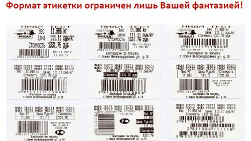 Принтер печати этикеток и чеков Datecs LP-50H
