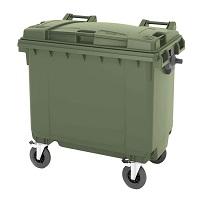 Мусорный контейнер пластиковый 660 л