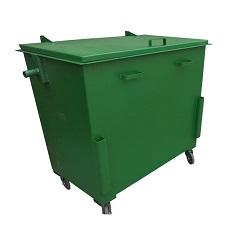 Мусорный контейнер металлический 1.1 м3