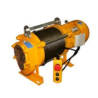 Лебедка электрическая KCD 750/1500 100м 380В